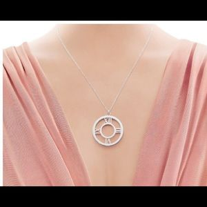Tiffany & Co. Atlas Medallion Pendant-XL